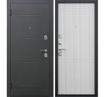 Дверь мет. Гарда Муар  (860х2050 левая) 7,5 мм Белый ясень