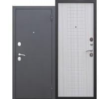 Дверь мет. Гарда Муар  (860х2050 левая) 8 мм Белый ясень