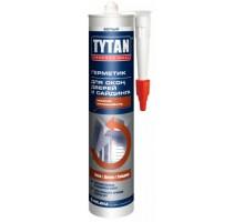 Герметик TYTAN Professiоnal силиконовый для окон, дверей и сайдинга белый 310 мл 1уп.=12шт