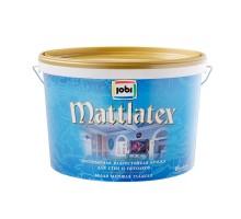 Краска ВД влагостойкая JOBI MATTLATEX 2.5 л ДЕКАРТ