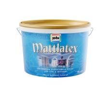 Краска ВД влагостойкая JOBI MATTLATEX 10 л ДЕКАРТ