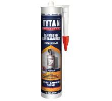 Герметик TYTAN Professiоnal для каминов силик.термостойкий (1500 С) 310 мл черный 1уп.=12шт