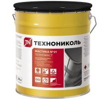 Мастика кровельная Технониколь №21 (Техномаст) 10 кг ( t от-20 до+30 )