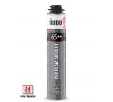 Монтажная пена професс KUDO PROFF 65 + Летняя 1000 мл (930 гр) (1 уп-12 шт)