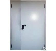 Дверь ДМП-02  ЕIS 60 металлическая противопожарная 1170*2070 правая RAL 7035