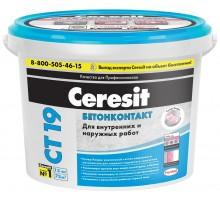 Ceresit Грунтовка СТ 19 Бетонконтакт 15 кг морозостойкая