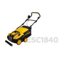 Скарификатор электрический Champion ESC1840, 1800 Вт, 40 см, 2 в1, травосборник 55 л, 12,0 кг