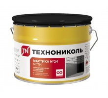 Мастика гидроизоляционная Технониколь №24 (МГТН) ведро 3 кг( t от-20 до+30 ) (упак 4шт)