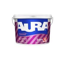 Краска ВД фасадная матовая AURA Fasad Expo   9л