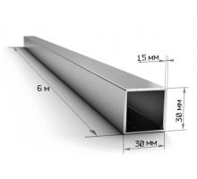 Труба профильная 30*30*1,5мм (6м)/пач225шт/пач225