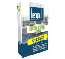 Клей Бергауф для плитки  Keramik  Pro усилен 25 кг (56)