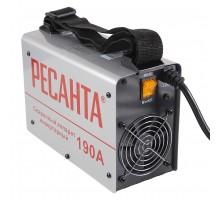 Аппарат сварочный инверторный Ресанта САИ 190(компакт) 190 А, электроды до 5 мм