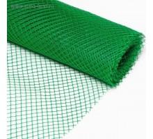 Решетка заборная 1,5 м х 25 м, ячейка 40 х40 мм, зеленая