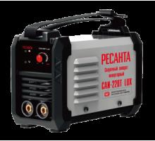 Аппарат сварочный инверторный Ресанта САИ 220Т LUX, 220 А, электроды до 5 мм, гарантия 5 лет
