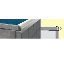 Профиль для керамической плитки  РП-АКП-01 2,7м алюминий