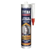 Герметик TYTAN Professiоnal для каминов силик.термостойкий (1500 С) 280 мл черный 1уп.=12шт