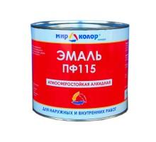 Эмаль ПФ-115 Корона белая 2,7 кг ГОСТ