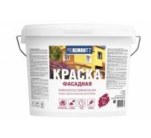 Краска ВД фасадная Лакра PROREMONTT Белая Л-С 14 кг(1уп-1шт/в поддоне-44шт)