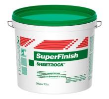 Шпатлевка готовая универсальная  SHEETROCK SuperFinish 3 л ( 5 кг.)-40 С