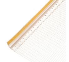 Профиль оконный  примыкающий с арм. сеткой 6мм 2,4м ISOMAX
