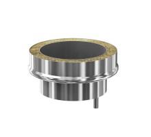 !Заглушка с конденсатосборником (ф115/200)