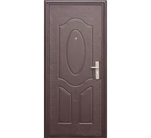 Дверь мет. строительная Е40М(С40) (960 левая) толщ.40мм/гофрокартон/ 1замок