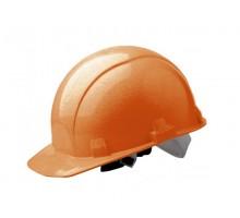 Каска защитная из ударопрочной пластмассы, оранжевая, Ормис