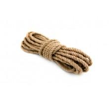 Веревка джутовая 8мм, 20м
