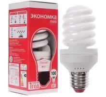 Лампа SPC 20 W/842 E27 ЭКОНОМКА МИНИ Т2 50*115 мм