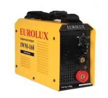 Аппарат сварочный инверторный Eurolux IWM160, 160 А, электроды до 4 мм