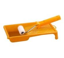 Набор: Валик 50 мм, поролон, ванночка 90 мм, Stayer