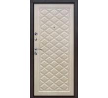 Дверь металлическая Kamelot Винорит беленый дуб 960х2050 левая