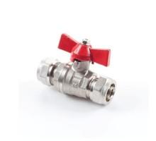 Кран шаровый для м/п трубы 16 х 16  (GTN)
