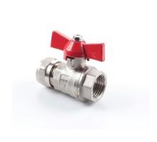 Кран шаровый для м/п трубы 20 х 3/4ВН  (GTN)
