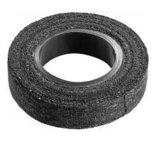 Изолента ХБ черная 18 мм, 15 м, 90 гр., Сибин