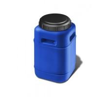 Бочка пластиковая  60 л. фляга квадратная  (ББП 60)