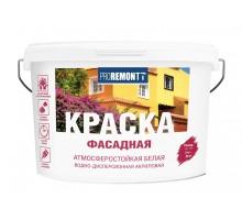 Краска ВД фасадная Лакра PROREMONTT Белая Л-С 6,5 кг(1уп-1шт/в поддоне-72шт)