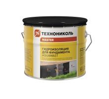 Мастика битумная для фундамента AquaMast, 3 кг.( t от-20 до+30 ) (упак 4шт)