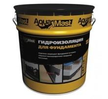 Мастика битумная для фундамента AquaMast,10кг( t от-20 до+30 )