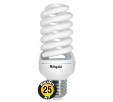Лампа NCLP SF 25W/840 E27 Спираль Navigator 94 356 46*123мм