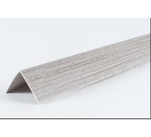 Угол двухсторонний 30х30 Ясень серый LU004  2,7м  (1 уп-25 шт)