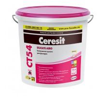 Ceresit Краска ВД фасадная  СТ 54 силикатная 15 л База неморозостойкая