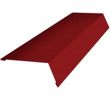 Планка карнизная 100*150*2000мм (3005) красное вино