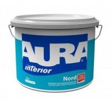 Краска  ВД интерьерная глубокоматовая высокоукрывистая AURA NORD 9  л