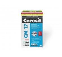 Ceresit Клей для плитки СМ-17 эластичный 25кг(48)