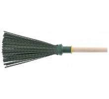 Метла круглая 160 х 300 мм, с черенком 2-го сорта (наличие сучков), Сибртех