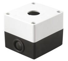 Корпус КП101 для кнопок 1 место белый ИЭК ВКР10-1-К01