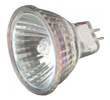 Лампа галогенная  20Вт/12B GU4  2000 часов, диаметр 35 мм, Светозар