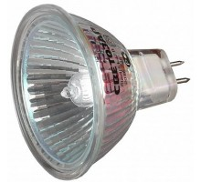 Лампа галогенная  20Вт/12B GU5.3  2000 часов, алюм. отражатель, диаметр 51 мм, Светозар