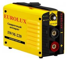 Аппарат сварочный инверторный Eurolux IWM220, 220 А, электроды до 5 мм